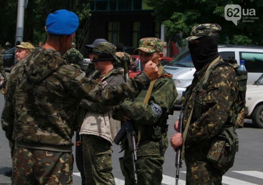 Бойцам батальона «Восток» отдают приказы