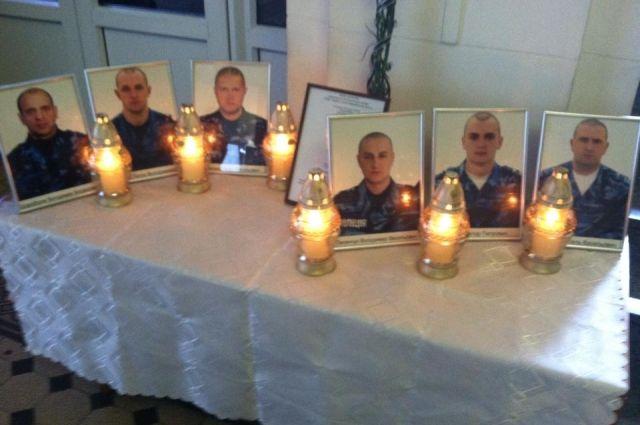 Погибшие в сбитом вертолете военные