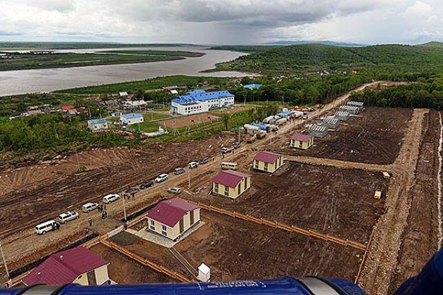 Новые дома в Ачане