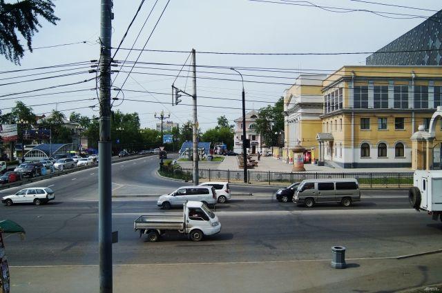 Вид на Городской дом культуры
