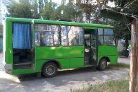 Автобус АНТОН-3250, такие сгорели в Днепропетровсе