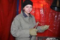 Юная Юлия Карташова не считает сварочное дело исключительно мужской профессией.