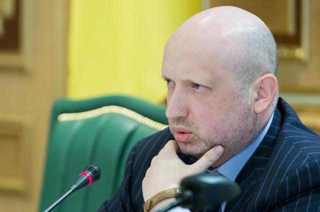 Александр Турчинов, и.о. президента Украины
