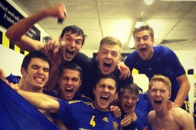 Сборная Украины U-19