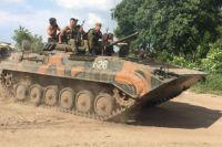 Танк украиских силовиков