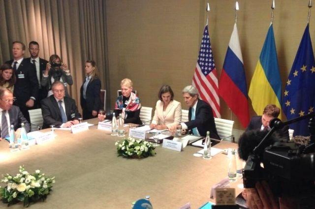 Женевские переговоры