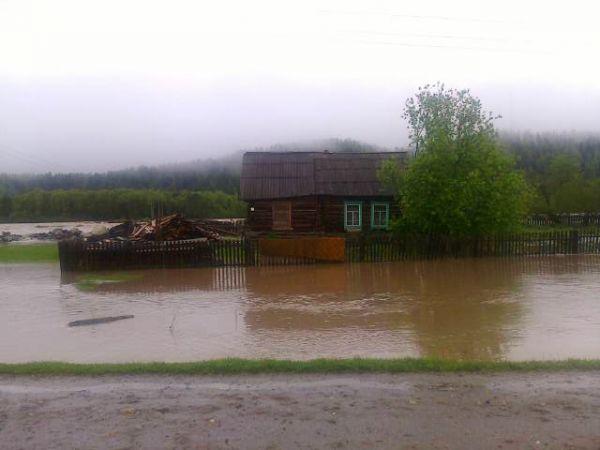 В Республике Алтай за 4 дня выпала месячная норма осадков.