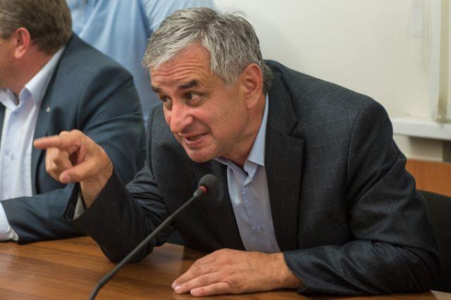 Лидер абхазской оппозиции Рауль Хаджимба.