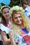Выпускница одной из школ в Одессе