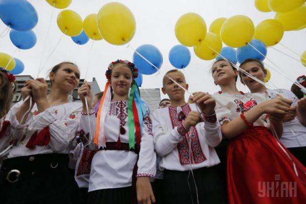 Праздник последнего звонка в Киеве