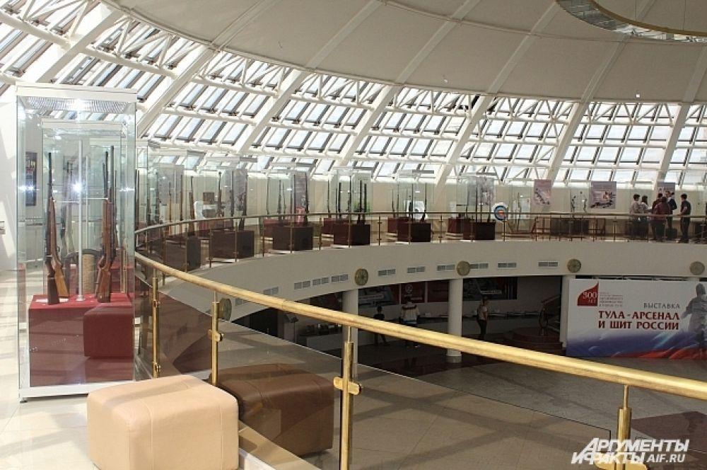 Выставочный зал музея.