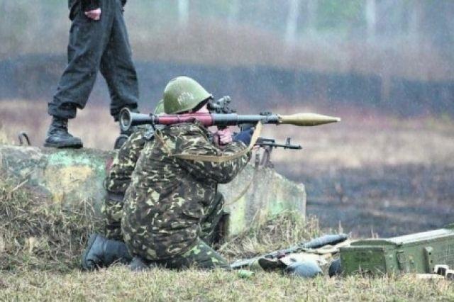 Бойцы Нацгвардии в зоне Славянска