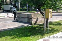 Блокпост в Донецке