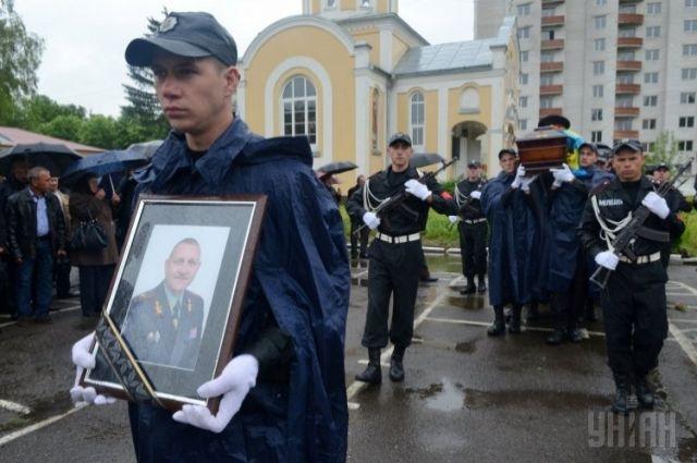 Похороны Сергея Кульчицкого