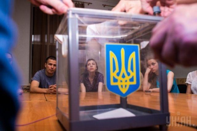 Во время выборов президента Украины