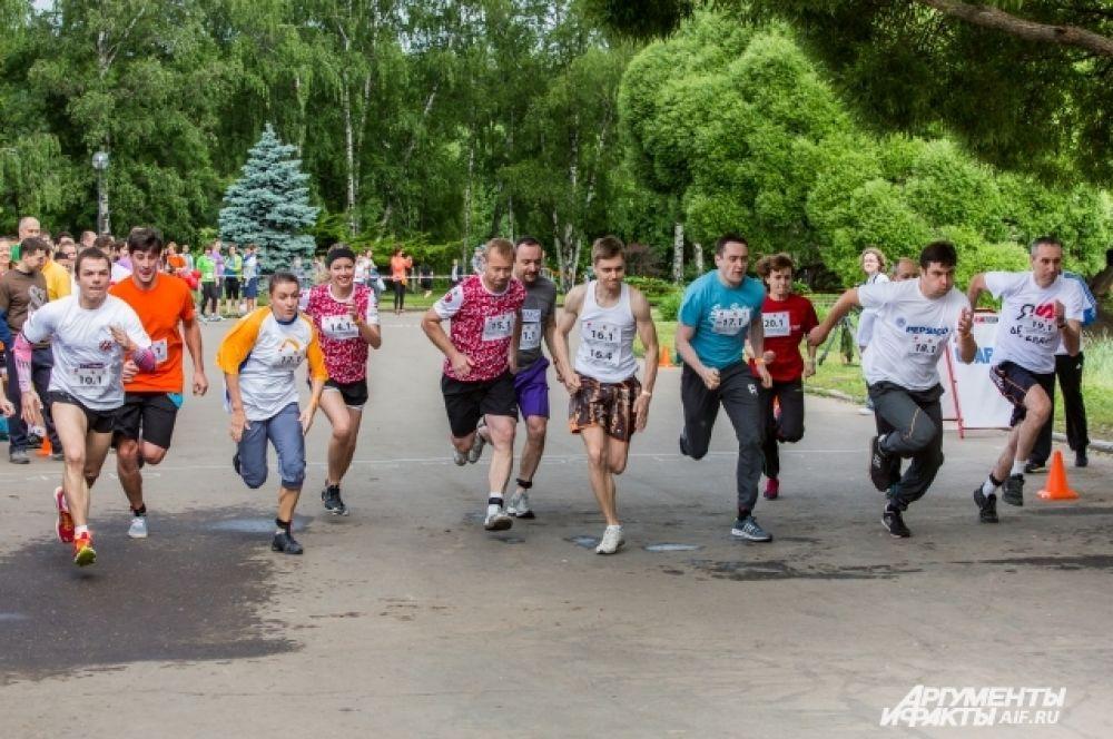 Для взрослых участников забег не только повод помочь детям, но и проверить свои собственные силы.