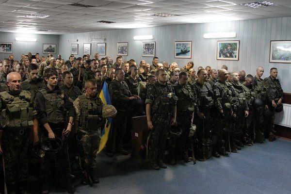 Батальон полтора месяца пребывал на боевом дежурстве в районе Изюм-Славянск