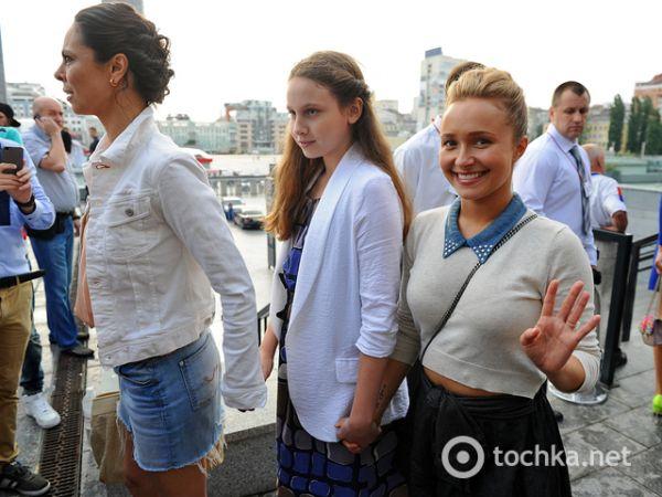 Хайден Панеттьери и Наталья Кличко
