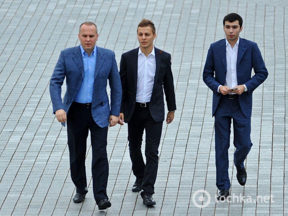 Нестор Шуфрич и его сыновья