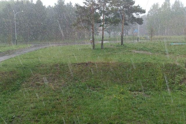 Первые летние дни принесли в Кузбасс мокрый снег.