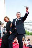 Президент «Кинотавра» продюсер Александр Роднянский вместе с супругой Валерией Мирошниченко.
