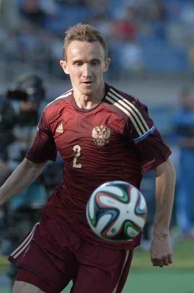 Другой динамовский защитник – Алексей Козлов.