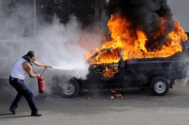 Директору КП «Херсонелектротранс» підпалили авто