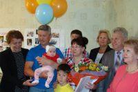Семья Пинигиных стала счастливым обладателем регионального материнского сертификата.