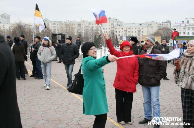 Митинг в поддержку городских властей парализует центр города