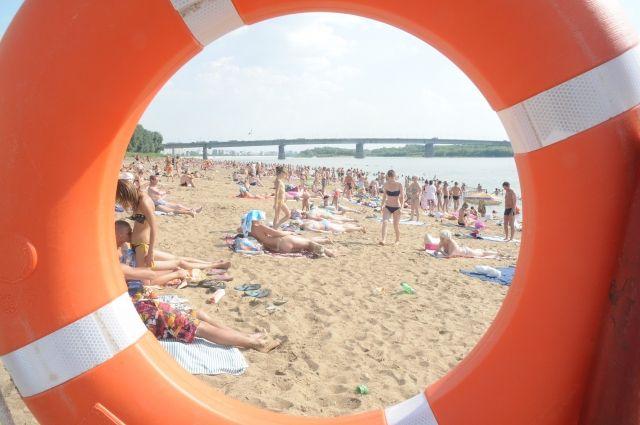 Шесть пляжей области признаны безопасными