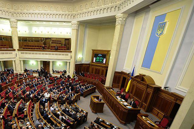 Верховная Рада Украины, заседание
