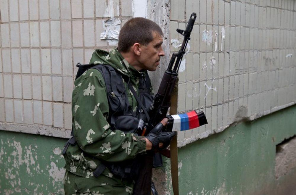 Боевики ЛНР