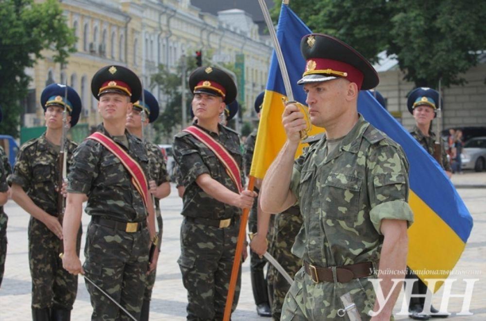 Репетиция инаугурации президента Украины Петра Порошенко