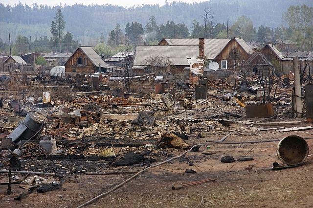 На месте сгоревших домов планируют построить новую улицу - Учительскую