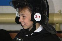 Школьник, спасший поселок от пожара, мечтает стать пожарным.