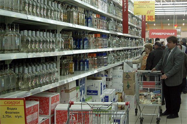 В День города купить спиртное нельзя будет в любом магазине в центре Иркутска.