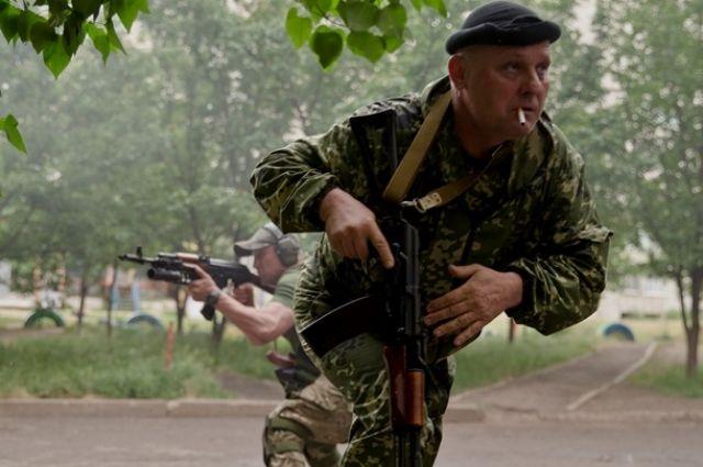 Боевики Луганска