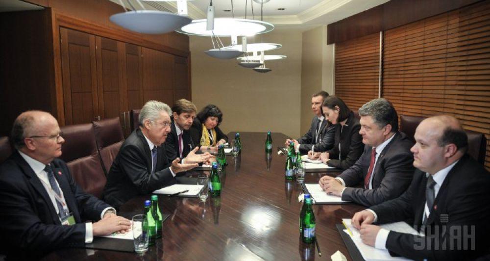 Зарубежный визит Петра Порошенко