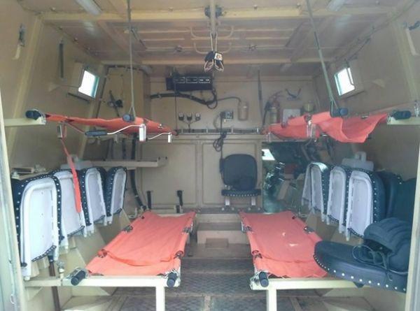Военный госпиталь для бойцов АТО