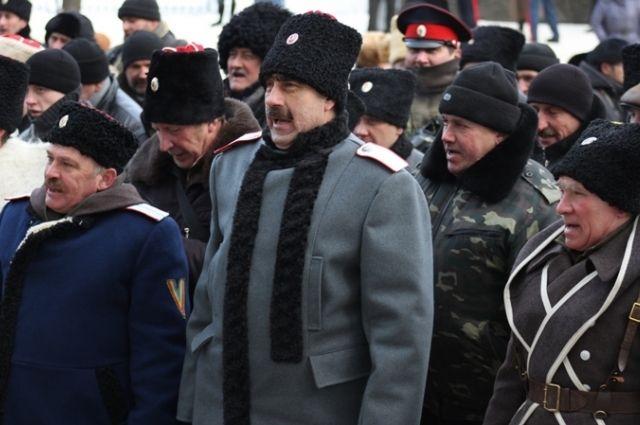 Донские казаки в Луганске