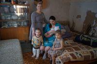 Хабаровская семья подтопленцев