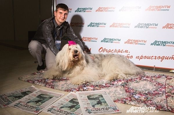 Не имеющие домашних животных коллег из СМИ, так и тянуло в  «АиФ-Приморье».