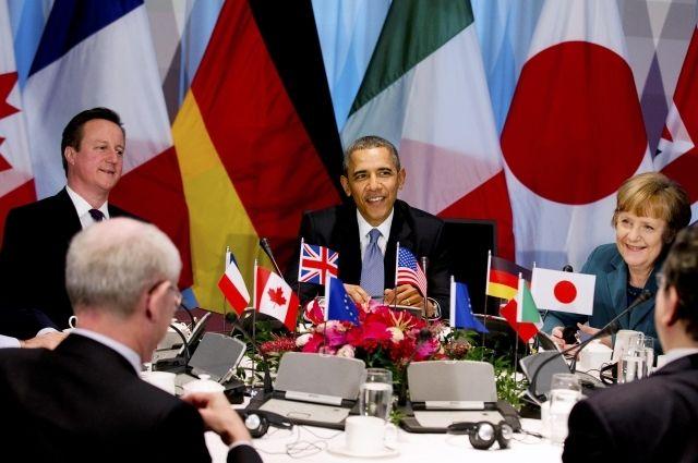 Лидеры стран «Большой семерки»