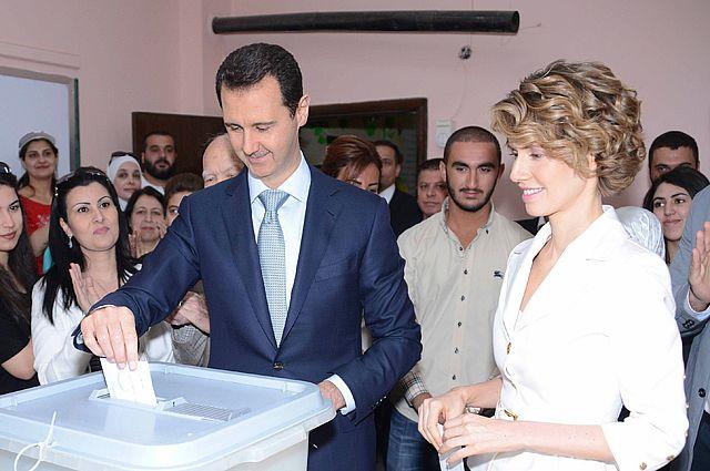 Башар Асад победил на выборах президента Сирии, набрав 88,07 % голосов.