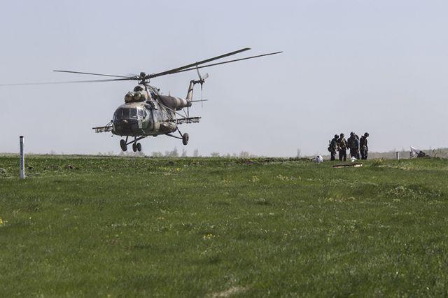 Вертолеты украинской армии