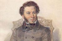 Портрет Александра Пушкина работы П. Ф. Соколова. 1836 год.