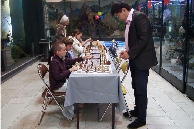 Шахматный турнир в музее.