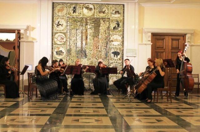 Камерный оркестр - часть Дальневосточного академического симфонического