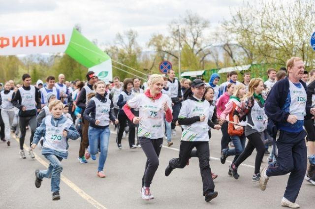 Омичи смогут принять участие в «Зеленом марафоне».