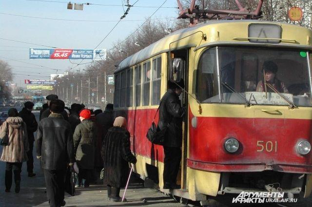 По улице Челюскинцев в Екатеринбурге перестанут ходить трамваи